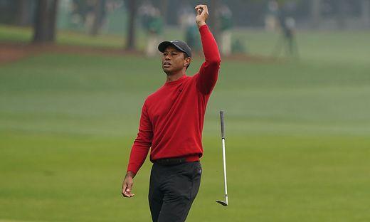 Für Tiger Woods lief es am vierten Tag des Masters in Augusta nicht immer nach Wunsch