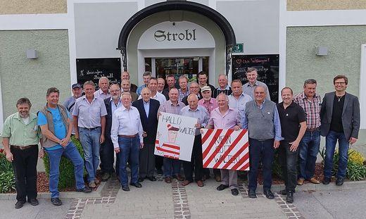 4. Internationales Cabrio Treffen in Strobl am Wolfgangsee