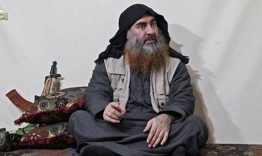 Abu Bakr al-Baghdadi auf einem Archivbild