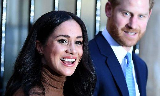 Haben jetzt gut lachen: Meghan und Harry