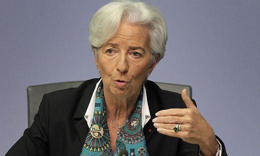 Christine Lagarde ist Präsidentin der Europäischen Zentralbank-ECB-EUROZONE-ECONOMY-EU-HEALTH-VIRUS