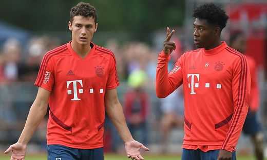 FBL-GER-BUNDESLIGA-BAYERN-MUNICH-TRAINING-CAMP