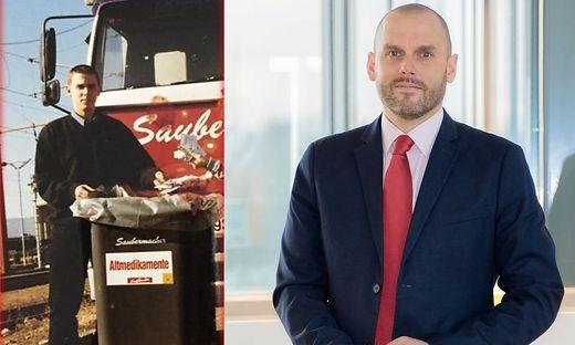 Mitte der 90er-Jahre absolvierte Daniel Ramminger eine Lehre bei Saubermacher, heute ist er in der Geschäftsführung