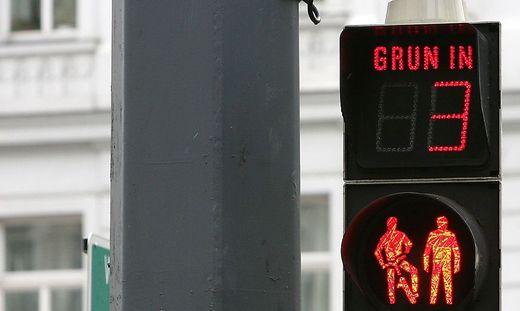 """In vielen Städten sind sogenannte """"Countdown-Ampeln"""" bereits gang und gäbe."""