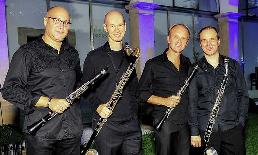 Die Musiker der vienna clarinet connection bieten Meisterkurse an