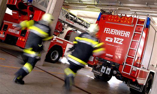 60 Helfer waren in Feldkirchen im Einsatz