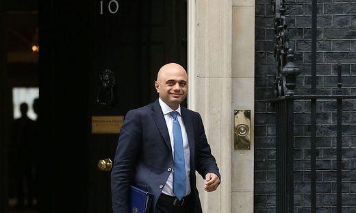 Der neue britische Gesundheitsminister Sajid Javid