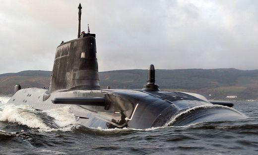 Die HMS Astute, ein U-Boot der Royal Navy (Archivbild)