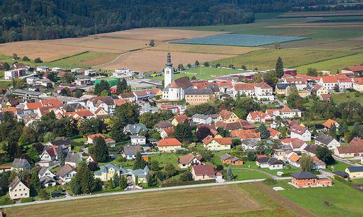 St. Ruprecht/Raab Luftaufnahme St. Ruprecht an der Raab Zentrum Sankt Ruprecht an der Raab Ort