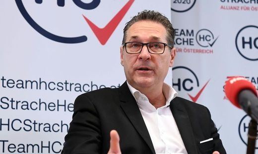 Das Team HC Strache will den Einzug in den Grazer Gemeinderat schaffen