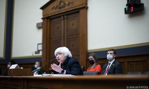 Finanzministerin Janet Yellen