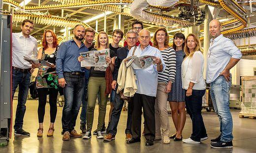 Das Leserforum besuchte die Druckerei