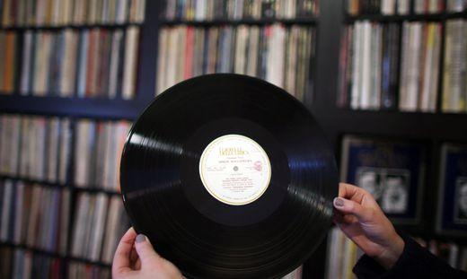 Vinyl Schallplatten