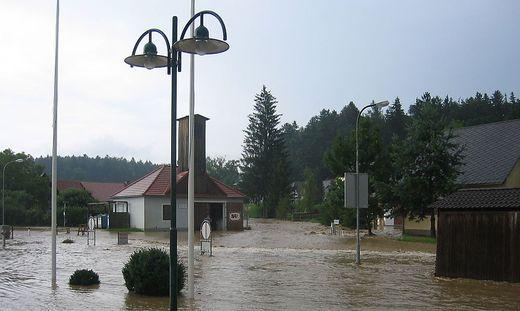 Solche Hochwasser wie 2009 soll es in Hitzendorf nicht mehr geben