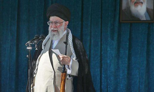 Ayatollah Ali Khamenei, das geistliche Oberhaupt des Iran.
