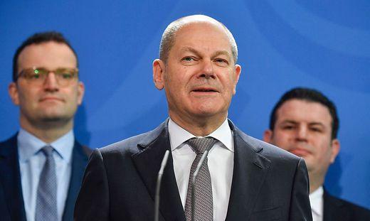 Der deutsche Finanzminsiter Olaf Scholz