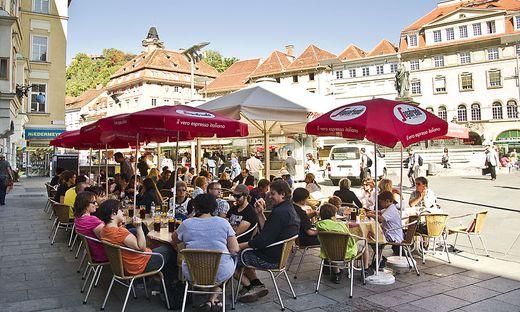 Gastgarten Hauptplatz Graz