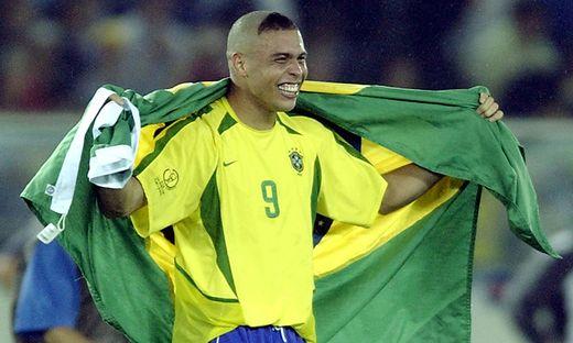 Ronaldo bei der WM 2002 in Südkorea und Japan