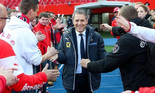 Marcel Koller hat den Kader für das Freundschaftsspiel bekannt gegeben