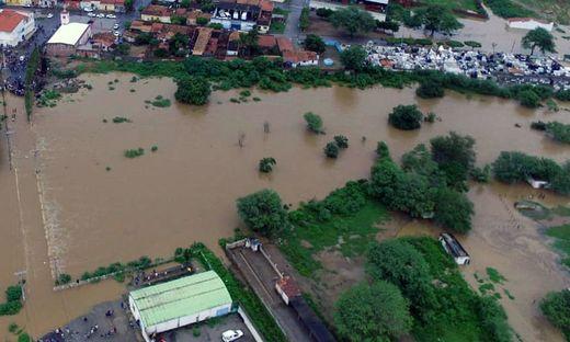 BRAZIL-RAINS-FLOOD