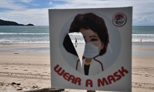 In Thailand steigen die Infektionszahlen stark an