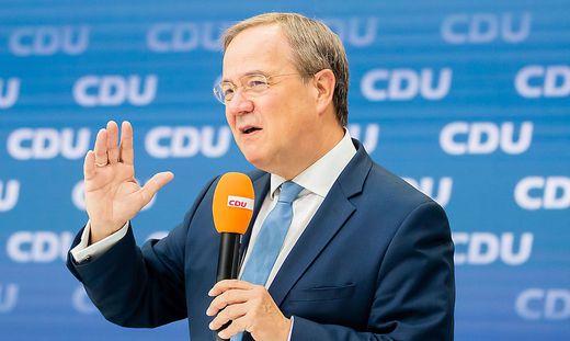 CDU/CSU-Kanzlerschaftsbewerber Armin Laschet