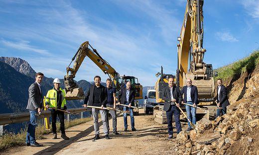 Neues Baulos Pustertaler Hoehenstrasze in Assling