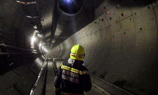 Blick in die Tunnelröhre