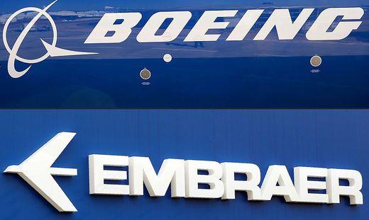 Geplante Fusion: Boeing (USA) und Embraer (Brasilien)