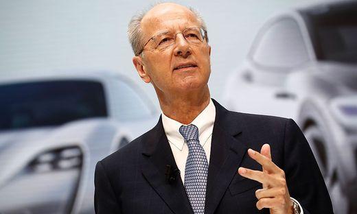VW-Aufsichtsratsvorsitzender Hans Dieter Pötsch