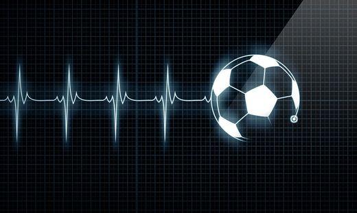 Fußball; Herzschlag