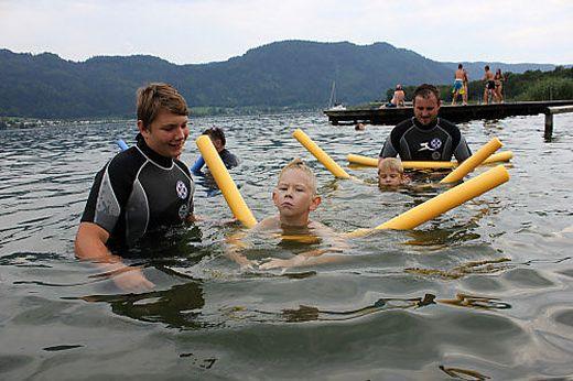 Wichtiges Angebot: Die Schwimmkurse der Österreichischen Wasserrettung