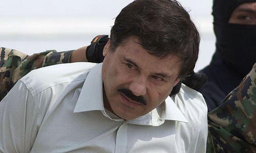"""Joaquin """"El Chapo"""" Guzman auf einem Foto von 2014"""
