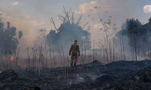TOPSHOT-BRAZIL-FIRE-MATO GROSSO