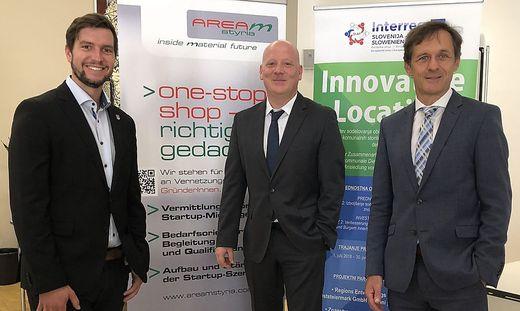 Wollen mehr Gründer in der Region: Schaffer-Leitner, Freund und Leitner (v. l.