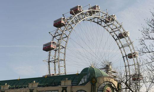 Das Wiener Riesenrad wird für einen Tag zum Lifestyle-Shopping-Center