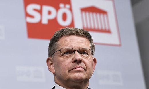 Der neue SPÖ-Geschäftsführer Christian Deutsch