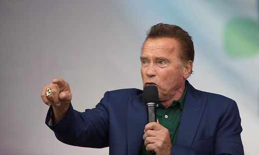Arnold Schwarzenegger will die Gesundheit der Besucher nicht gefährden