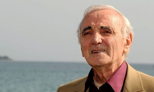 Aznavour im Jahr 2009