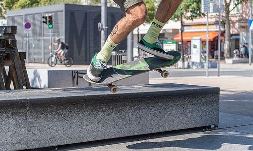 Skater am Lendplatz