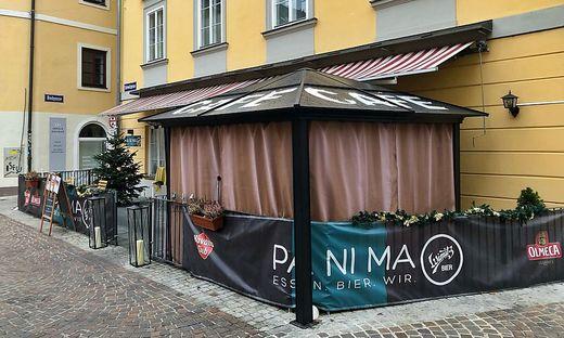 Viele Betriebe – wie das Panima in Klagenfurt – haben Raucherzelte
