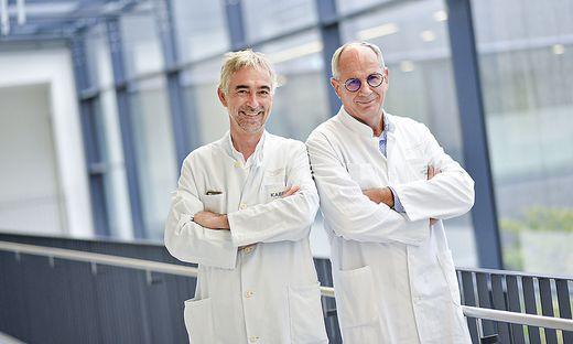 Georg Pinter und Rudolf Likar: zwei der Buchautoren