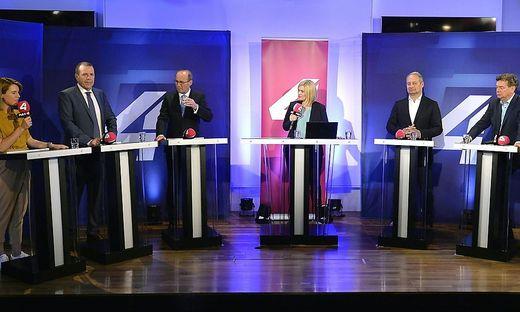 EU-WAHL: HAUS DER EU: GRUPPENFOTO