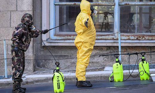 Sicherheitsübung in Budapest