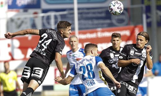 Hartberg fordert Sturm im Steirer-Derby