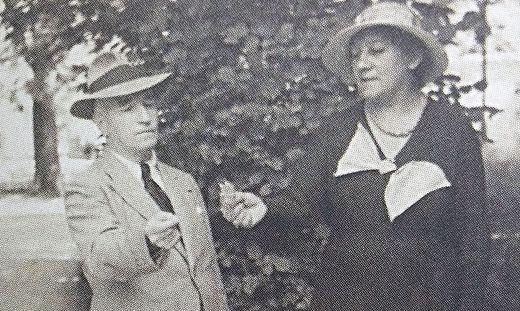 Marie Knittelfelder - alias Aline Aliberti - und ihr Ehemann Hermann