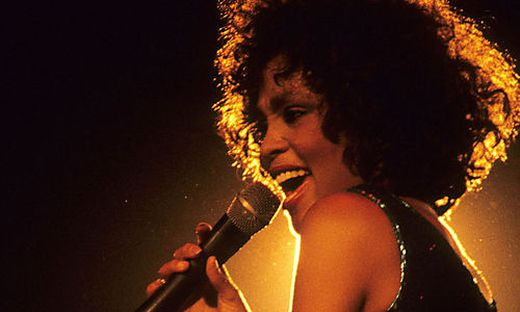 Konzert von Whitney Houston in London