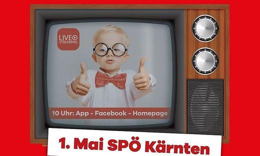 Die SPÖ Kärnten lädt heute zur Online-1. Mai-Feier ein
