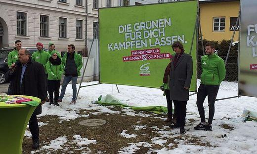 Die Grünen im Wahlkampf 2018