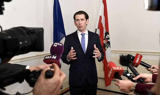 Sebastian KURZ IN LONDON